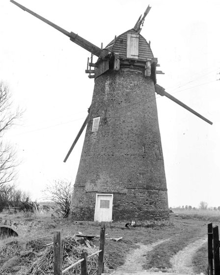 Clippesby Mill in 1971.