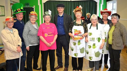 Barbara Shaw and Jean Youngs held a coffee morning in Blundeston Village Hall last Saturday assisted