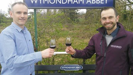 Wine on the Line is organised by Reno Wine's Chris White and VanVino's Johnny Wyndham along with the