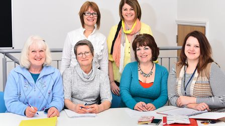 The first group to have completed the Choices programme run by Broadland District Council. Picture:
