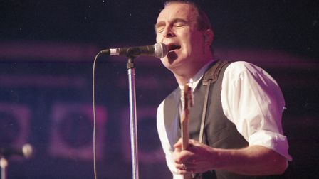 Status Quo playing at Carrow Road, Norwich on the 2nd August 1997. Photo: Archant Library