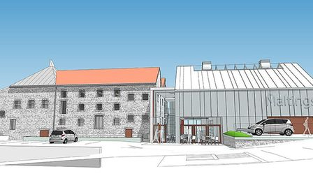 The Wells Maltings Project aims to transform a dilapidated Maltings building into a new heritage and