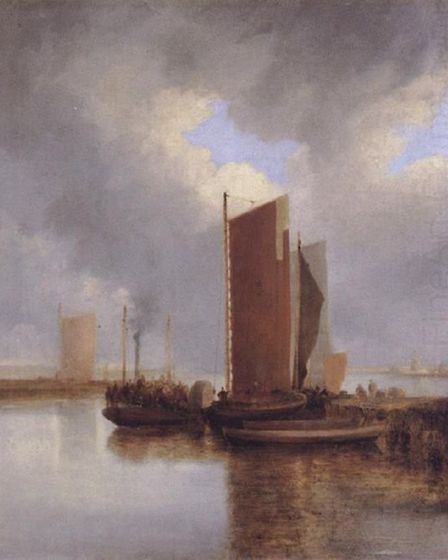 The steam packet painted by John Crome. Picture: Archant library