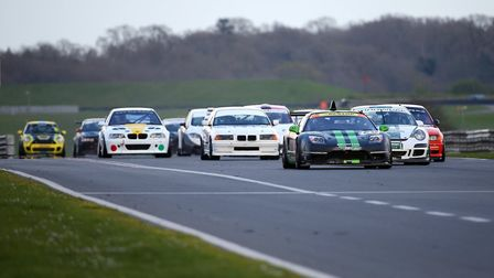 Action from the weekend's racing at Snetterton. Picture: davidstallardphotography.com