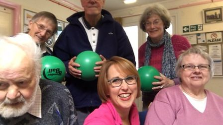 Join Parkinson's Cromer exercise group: Pictures: Parkinson's Cromer