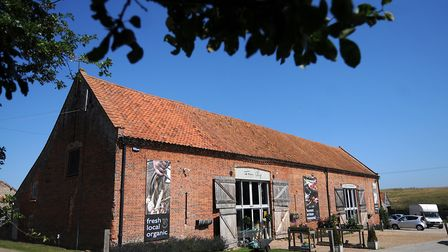 Back to the Garden farm shop and restaurant. Picture: ANTONY KELLY