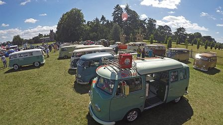 Love campers at VW Whitenoise Festival 2017. Picture: VW WHITENOISE FESTIVAL