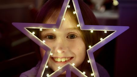 Lily Dewbery at the Stars of Lowestoft and Waveney awards evening 2016. PHOTO: Nick Butcher