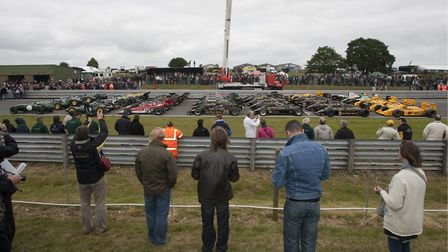 There is a packed programme of classic racing at Snetterton this weekend.Photo: Jerry Daws