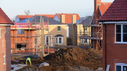 Generic shot of house building in Norfolk. PHOTO BY SIMON FINLAY