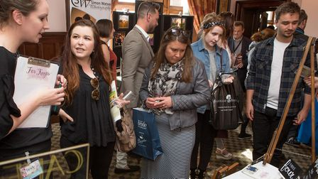 The EDP Wedding Show, held at Dunston Hall on Sunday, April 23. Picture: Lee Blanchflower