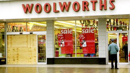Woolworths in Great Yarmouth. Photo: Steve Parsons