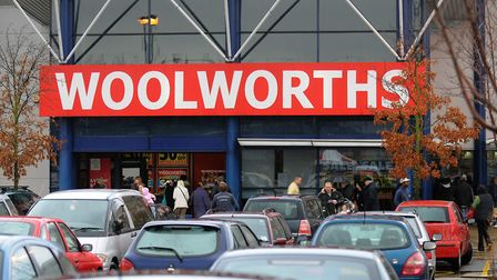 The Norwich Riverside Woolworths store. Photo: Simon Finlay