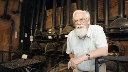 Dr Mike Bridges at the Fakenham Museum of Gas and Local History. Picture: ARCHANT.