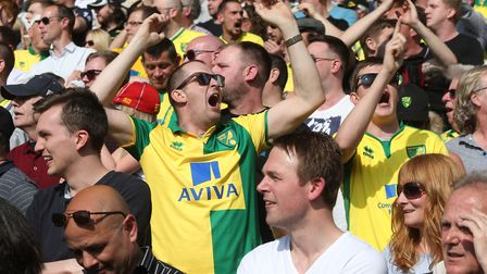 City fans have had plenty of highs and lows this season. Photos: PAUL CHESTERTON