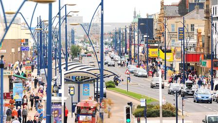 The Golden Mile at the height of the summer. The borough council is looking for investment partners.