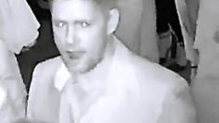 Officers would like to speak with the man captured in the CCTV images in connection with the inciden
