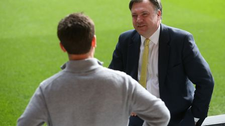 Norwich City chairman Ed Balls sought advice from football expert Damien Comolli. Picture: Paul Ches