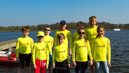 NBYC played hosts to youngsters competing in the Musto Optimist East Traveller Series. Pictures: Bil