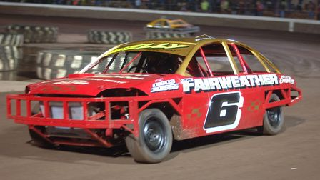 Stock cars return to King's Lynn on Saturday. Picture: Colin Casserley