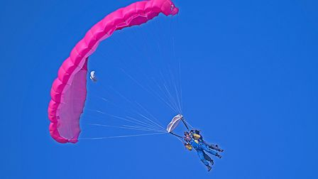 Could this be you after jumping out of a plane? Picture: Submitted