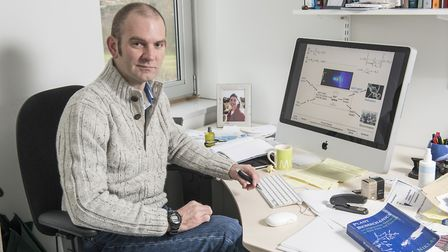 Richard Morris, a scientist at the John Innes Centre, who is leading the Plant health research progr