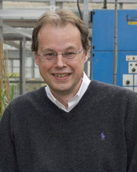 Graham Moore, a scientist at the John Innes Centre, who is leading the Designing future wheat resear