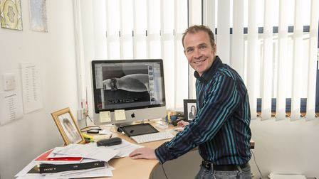 Lars Ostergaard, a scientist at the John Innes Centre, who is leading the Genes in the environment r