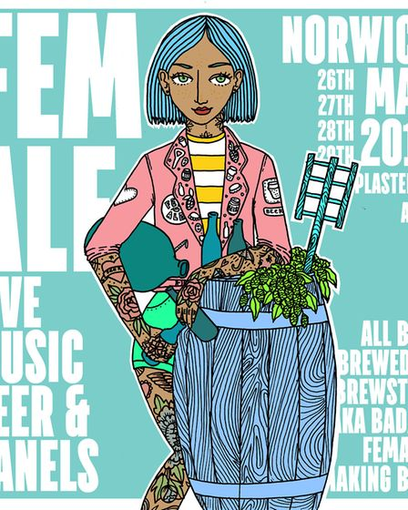 FEM.ALE will be returning to the Plasterers Arms, in Cowgate, from May 26 to 29, and will be serving