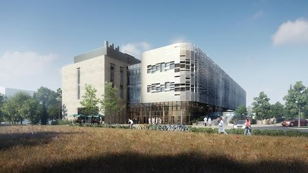 Artist's impression of the new Quadram Institute to be built at Norwich Research Park.