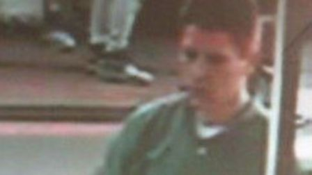Police are searching for this man, captured on CCTV, in releation with a theft in Stalham. Picture: