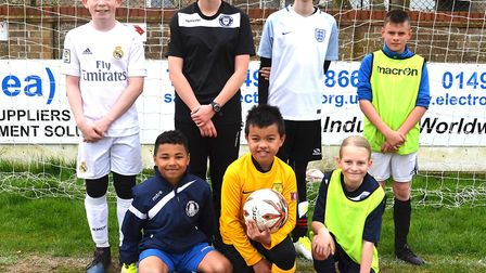 Football fun day at Crown Meadow. Pictures: MICK HOWES