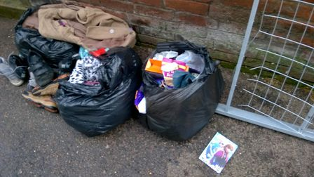 Walter Serra, aged 38, of Elsie Road, dumped a bed frame and three bags of waste in the passageway.