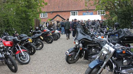 The Beers, Bikes and Bands event at the Burston Crown. Picture: GEOFF DIXON