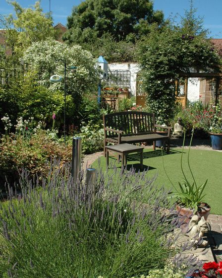 One of the gardens that took part last year. Picture: Age UK Norfolk