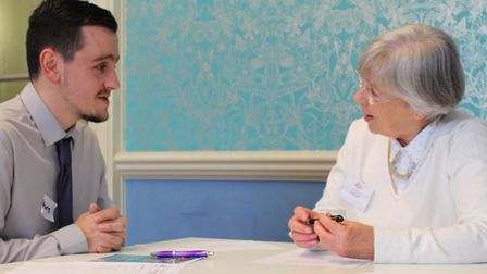 Care recruitment event. Photo: Norfolk County Council