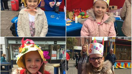 Top left - bottom right: Sophie Chambers, Lydia Waller, Maisie and Jessica Davies. Picture: GYTCP