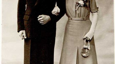 Peter and Vera Hutton in their younger years. Picture courtesy of Kath Hutton.