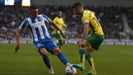 Brighton's Anthony Knockaert is one of four Seagulls' players in the PFA Championship team of the ye