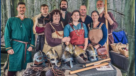 Members of re-enactment group The Dragon Shields. Picture: Glyn Dewis Photography