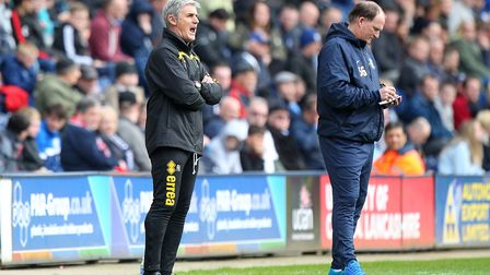 Norwich City's top brass want Alan Irvine to remain at the club. Picture: Paul Chesterton/Focus Imag