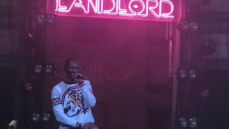 Rapper Giggs is currently touring his new album Landlord. Picture: Instagram/scottcathro