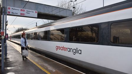 Delays to trains between Norwich and Cambridge. Byline: Sonya Duncan Copyright: Archant 2016