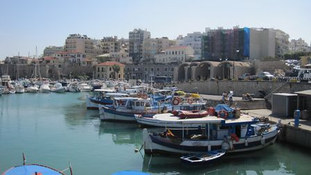 A view of Heraklion in Crete taken from the marina. Picture: Sam Beattie/PA Images