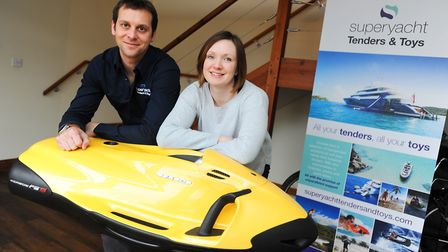 Superyacht Tenders & Toys Business profile. Josh and Claire Richardson who run Superyacht Tenders &