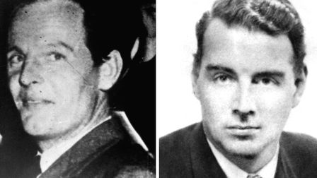 Soviet spies Donald Maclean (left) and Guy Burgess. Photo: PA Wire