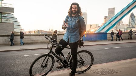 James Davenport will be cycling round the world.