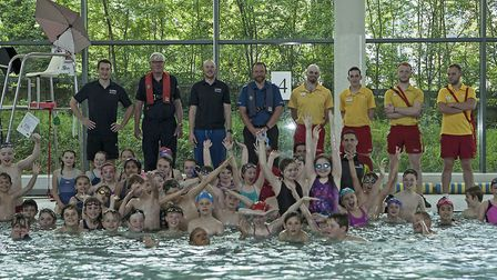 About 130 pupils from around Norwich enjoyed a Get Safe for Summer day at Riverside Leisure Centre.