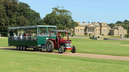 Farming without having to put your wellies on! Hop aboard the family tractor trailer tours at Holkha