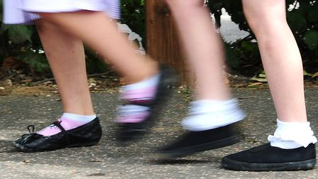Children will be enjoying their first day at school tomorrow. Picture: Ian West/PA Wire